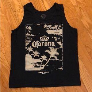 Corona Cerveza Tank Top Large (says xl but fits L)